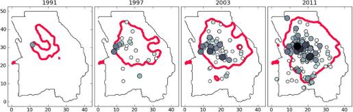 gebied-aardbevingen-per-jaar