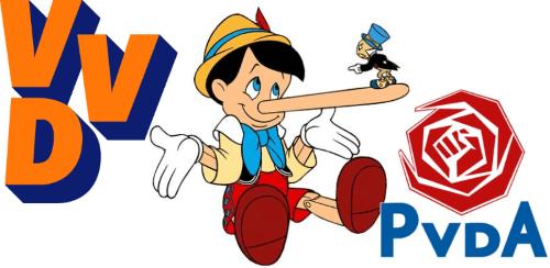 VVD-PvdA-pinoccio-2