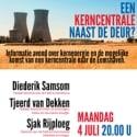 Een kerncentrale naast de deur?