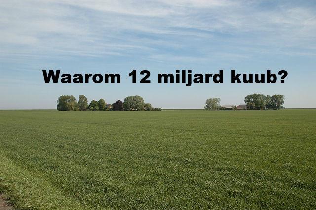 Veiligheid voorop betekent nog steeds 12 miljard kuub gaswinning uit Groningen